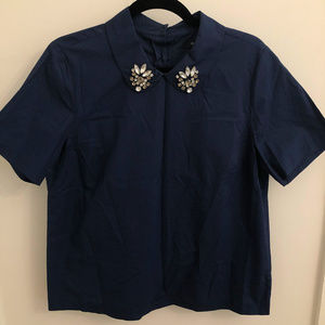 Madewell Embellished Button Down